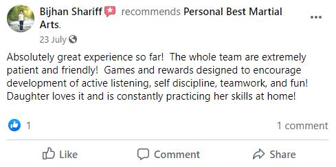 PB7, Personal Best Martial Arts Academy Port Coquitlam BC